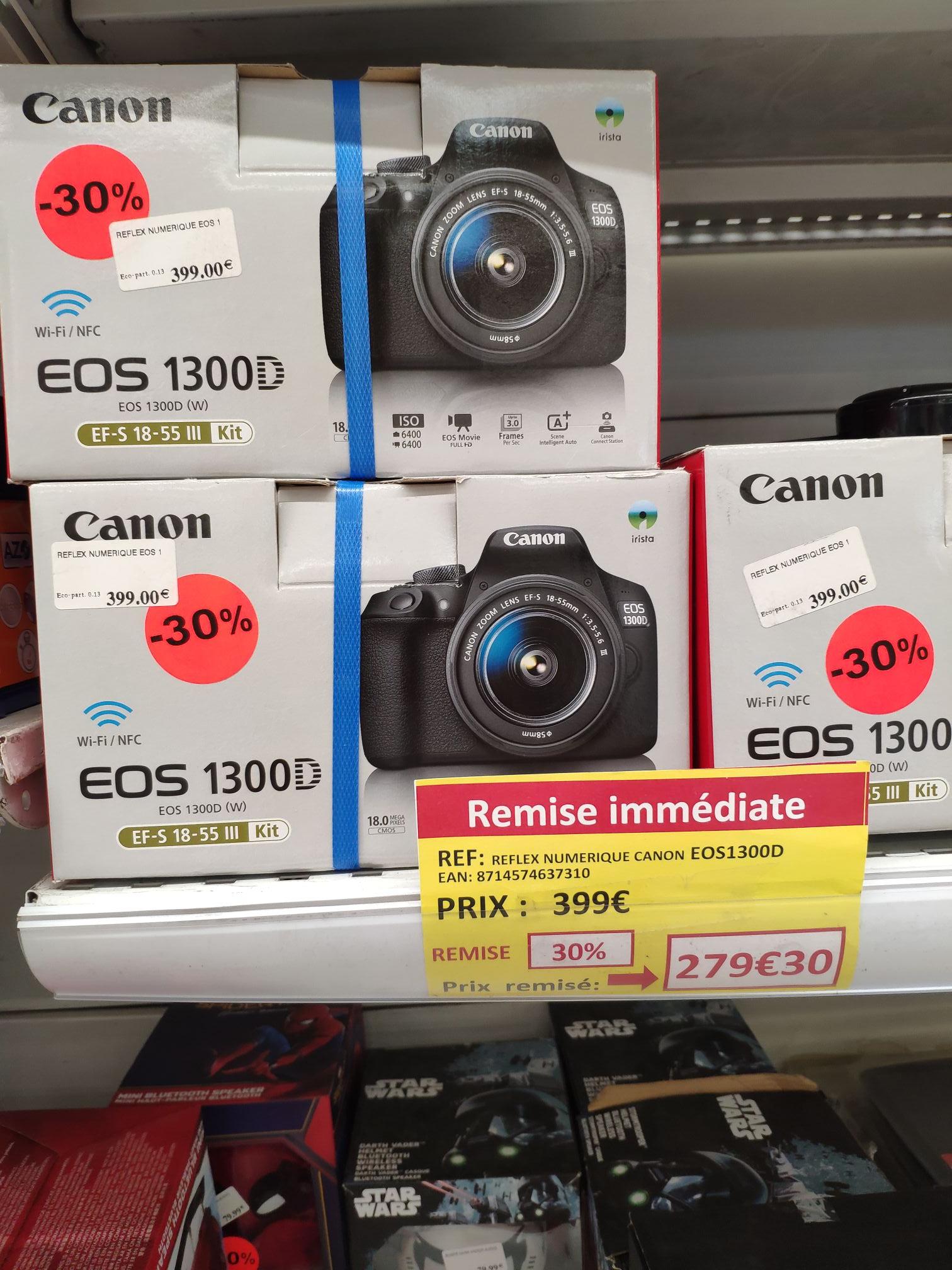 Appareil Photo Réflex Numérique Canon EOS 1300D + Objectif 18-55 - Rots (14)