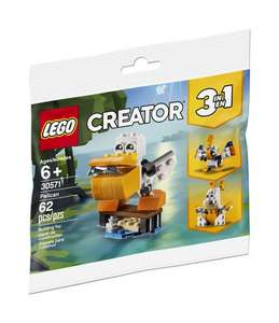 Ensemble Lego Creator 3 en 1 Le pélican gratuit dès 35€ d'achat