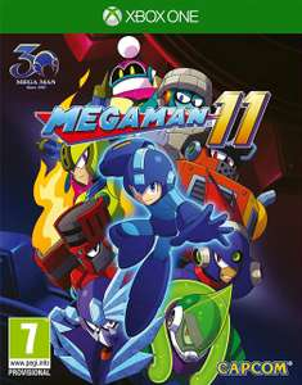Mega Man XI sur Xbox One (via l'Application)