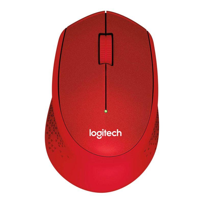 Souris Logitech  M330 Silent Plus - Rouge