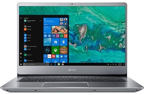 "Ultrabook 14"" Acer Swift 3 SF314-54-P1AK - Full HD, SSD 128 Go, RAM 4 Go, Pentium 4417U, Windows 10"