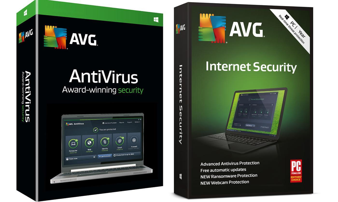 Licence 2 ans pour l'antivirus AVG Internet Security 2019 (Dématérialisé - 3 PC)