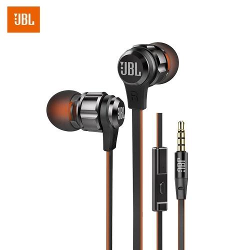 Écouteurs intra-auriculaires JBL T180A - Plusieurs coloris