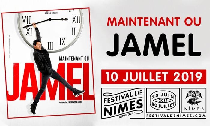 """Place pour le spectacle de """"Jamel"""" au Festival de Nîmes le 10 juillet 2019 - Nîmes (30)"""