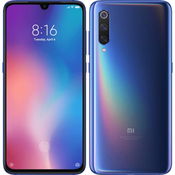 "Smartphone 6,39"" Xiaomi Mi 9 Global - FHD+, Snapdragon 855, RAM 6Go, 64Go, 4G (Vendeur Tiers)"