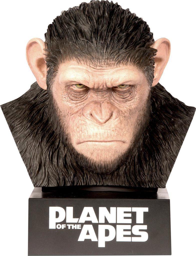 Coffret Blu-ray La Planète des singes : L'intégrale des 8 films - Édition Limitée Buste Primal