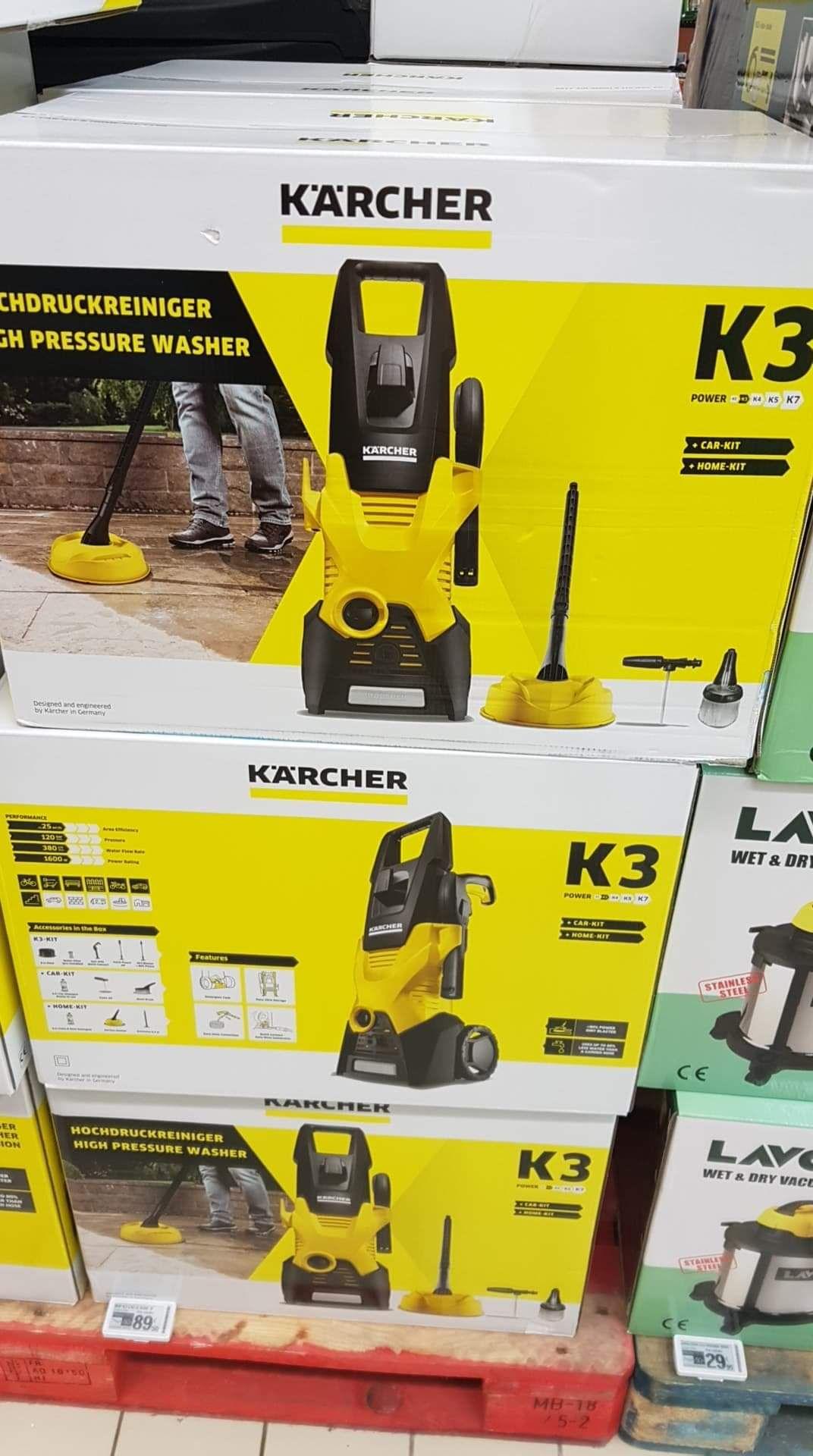 Nettoyeur haute pression Karcher K3 avec kit Car&Home - Leclerc Saint Aunés (34)