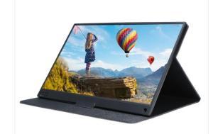 "Moniteur Portable 15.6"" Tbao T15A - IPS, HDR, Full HD, Mini HDMI + 2 Type-C, avec batterie"