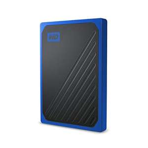Disque SSD externe WD My passport Go - 1To, Finition Cobalt