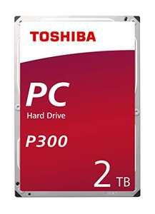 "Disque dur Interne 3.5"" Toshiba P300 (7200RPM) - 2 To"