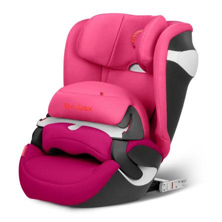 Siège auto Cybex Juno M-Fix Groupe 1 (9-18kg) avec bouclier - Passion pink-purple