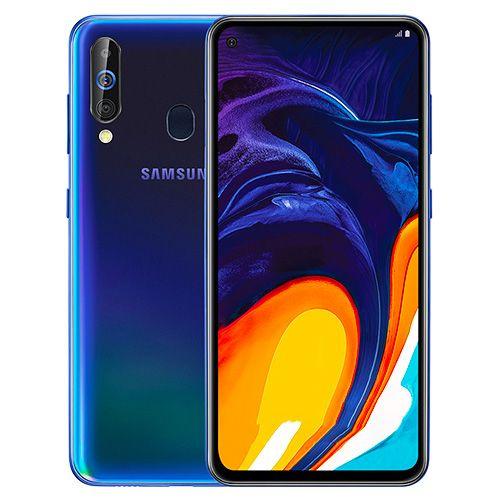 "Smartphone 6.3"" Samsung Galaxy A60 - 6Go RAM, 64Go ROM, Snapdragon 675, Android 9, 4G , Noir"