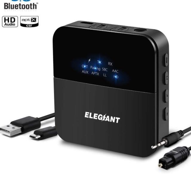 Récepteur-Transmetteur bluetooth 5.0 Elgiant (vendeur tiers)