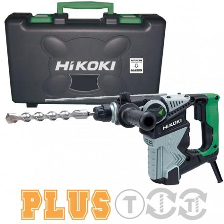 Sélection d'outils et accessoires - Ex : Perforateur burineur filaire Hitachi Hikoki SDS-Plus DH28PCZ - 720 W, 28 mm, 3,5 J, mallette