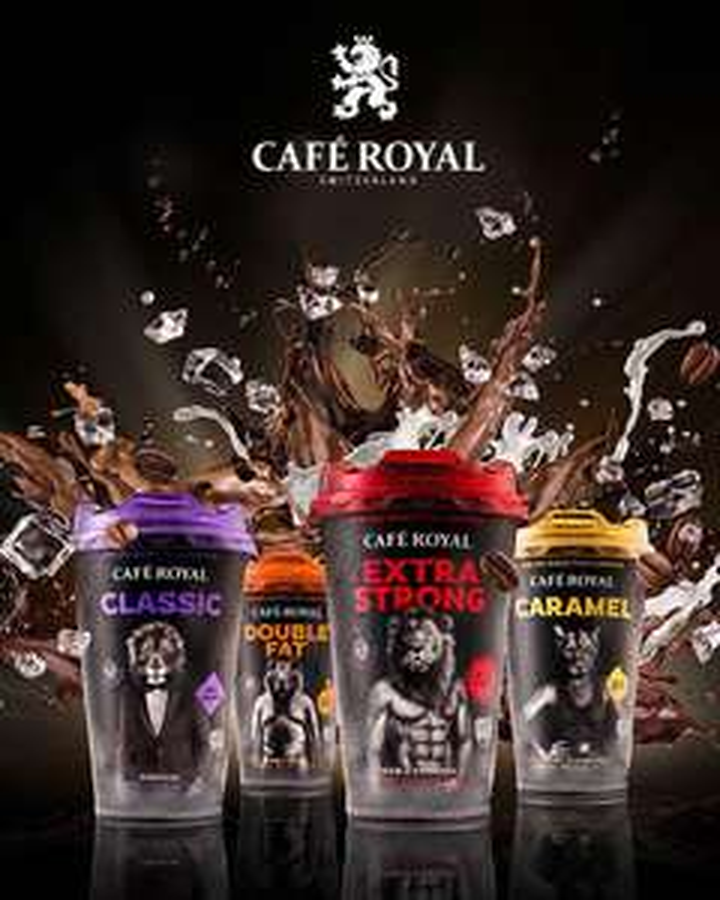 Cafés prêts à boire Café Royal - Plusieurs parfums gratuits