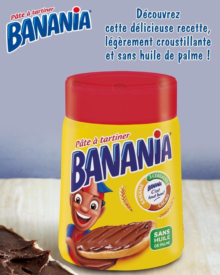 Pâte à tartiner Banania 600g (sans huile de palme)