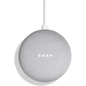 Assistant vocal Google Home Mini - Noir/Blanc (Frontaliers Italie)