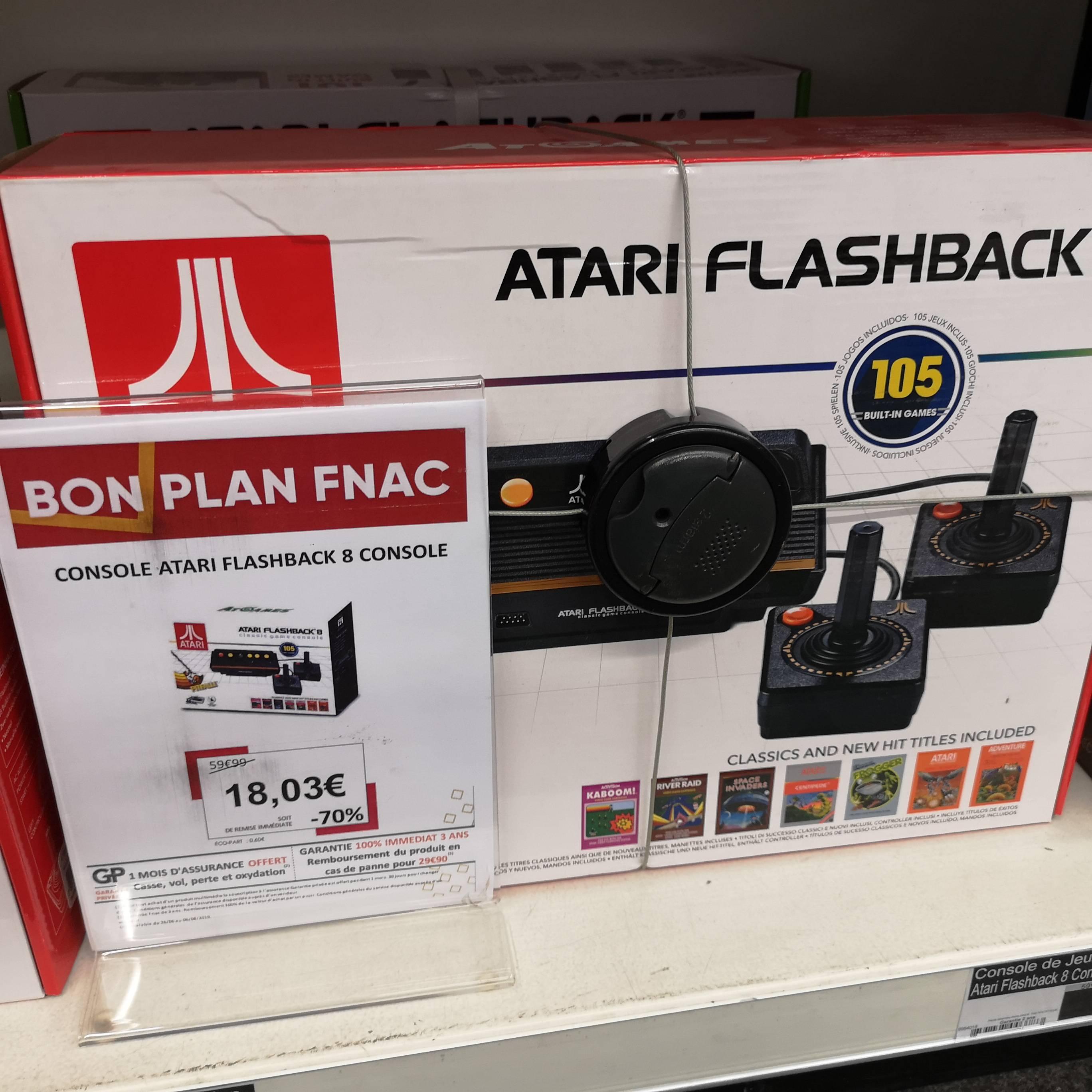 Console rétro Atari Flashback 8 - Gennevilliers (92)