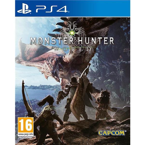 Jeu Monster Hunter World sur PS4