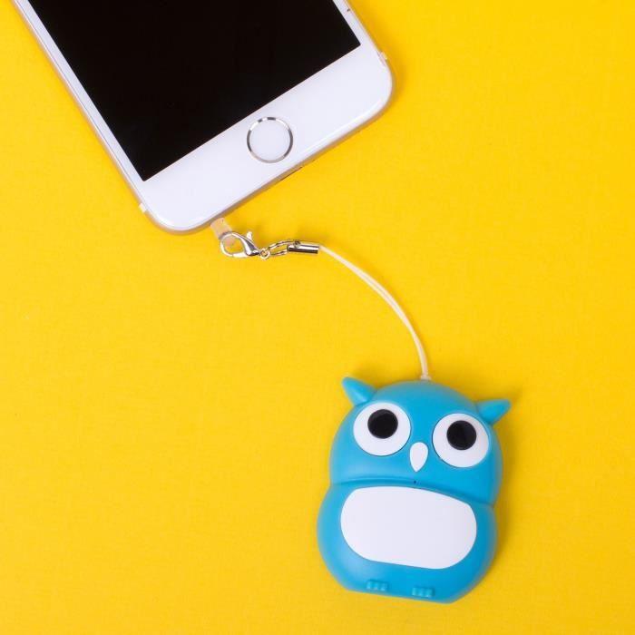 Mini Enceinte Sans-fil Swipe Chouette - Bluetooth
