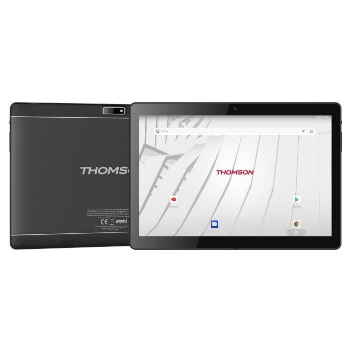 Tablette tactile Thomson TEO10S-RK2BK64S- 2 Go RAM, 64 Go (ODR 20€)