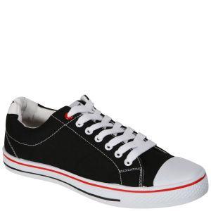 Chaussures baskets en toile Everlast - couleur noire