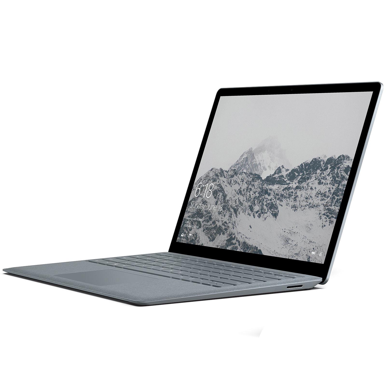 """PC Portable tactile 13.5"""" Microsoft Surface Laptop 1ère génération - i5-7200U, 8 Go de RAM, 128 Go en SSD, Windows 10S"""