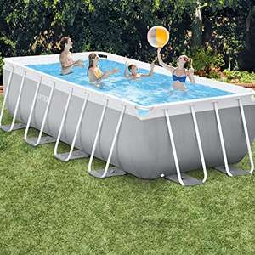 Kit piscine Intex Prism Frame rectangulaire - 4.88 x 2.44 x 1.07 m