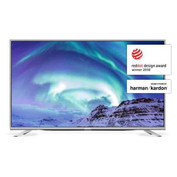 "TV 49"" Sharp LC-49CUF8472ES - LED, 4K UHD, Smart TV, Son Harman Kardon"