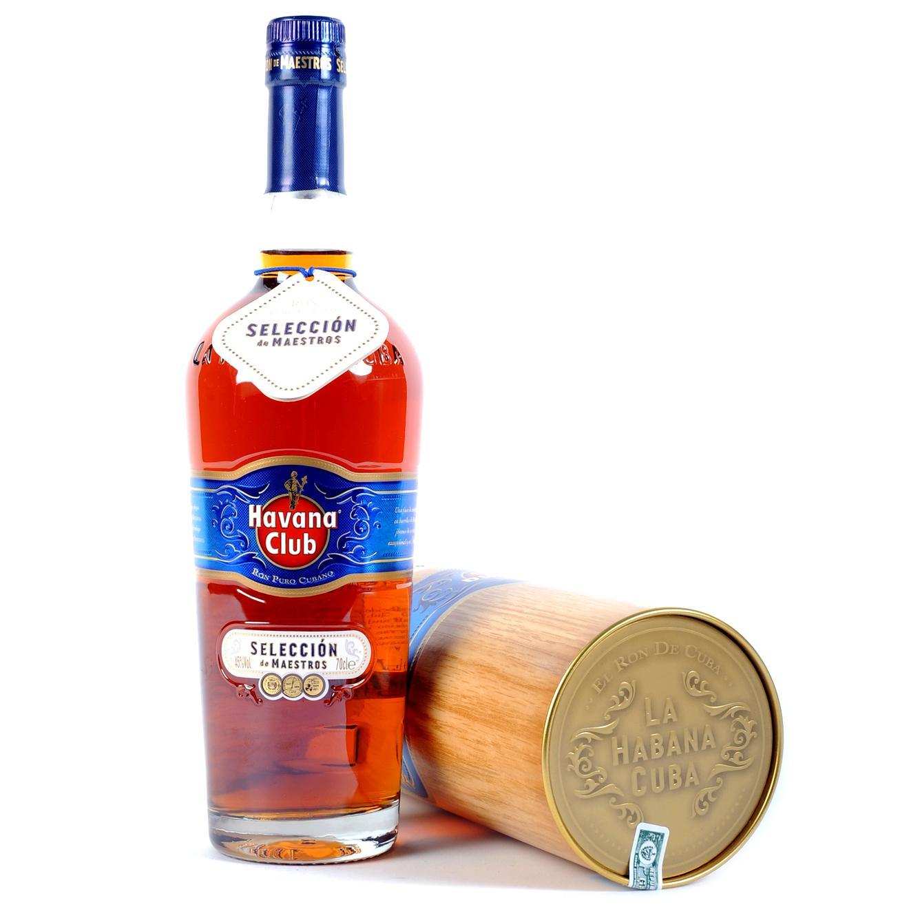 Sélection de Rhums & Whiskies en promo - Ex : Rhum Havana Club Seleccion de Maestros 70cl