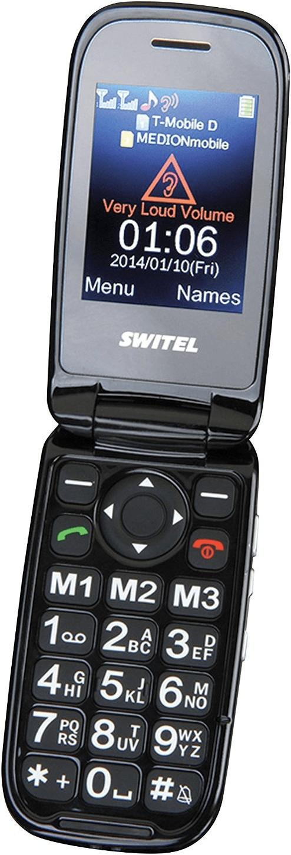 Téléphone portable à clapet Switel Mapa M270D - avec double-écrans et grosses touches