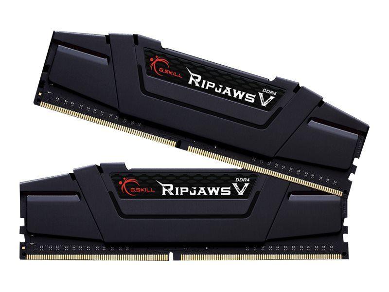 Kit Mémoire G.Skill Ripjaws - 32Go (2 x 16 Go), DDR4, PC 3200 CL16 (+ Jusqu'à 39,89€ en Superpoints)