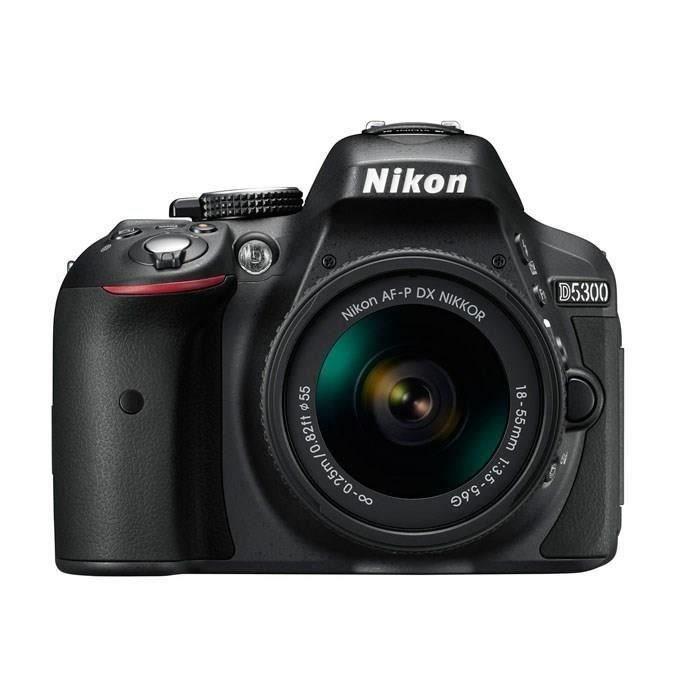 Appareil Photo Nikon D5300 + Objectif AF-P 18-55 mm VR (+ Jusqu'à 96.46€ en superpoints)