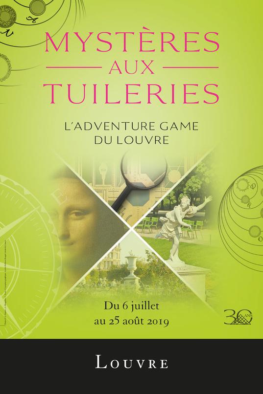 Adventure Game Mystères aux Tuileries gratuit - Jardin des Tuileries Paris (75)
