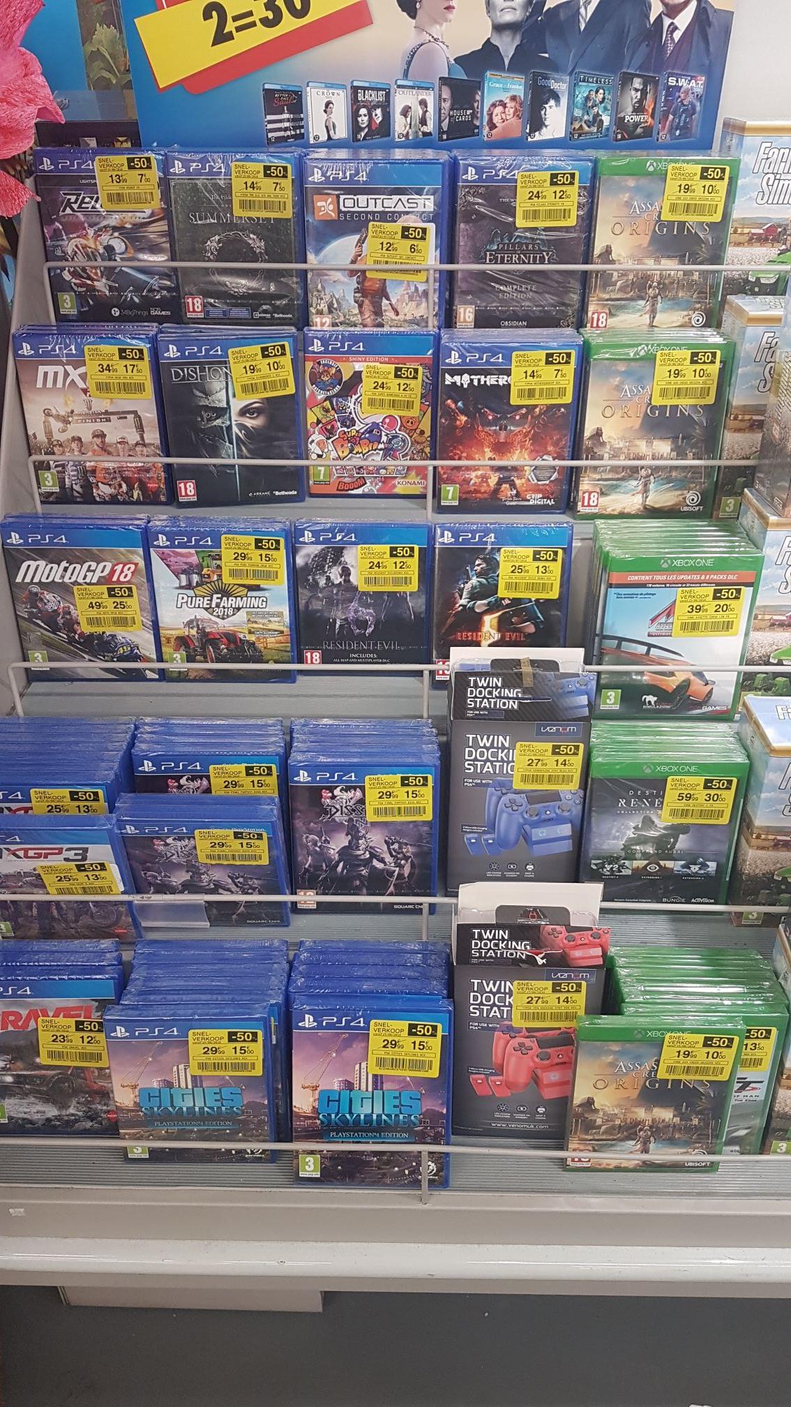 Sélection de Jeux PS4 & Xbox One en promotion - Ex: Assassin's Creed Origin sur Xbox One - Drogenbos (Frontaliers Belgique)