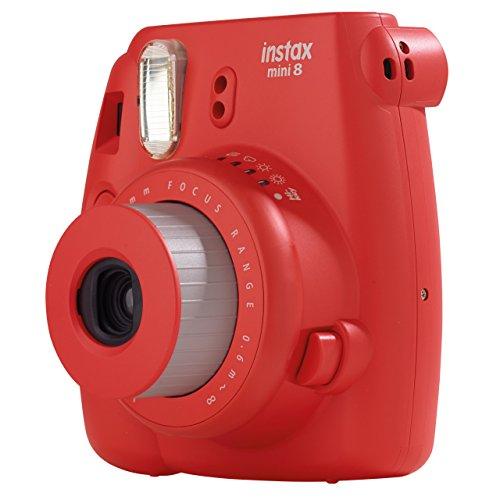 Appareil Photo Argentique Instantané Fujifilm Instax Mini 8  (Rouge)