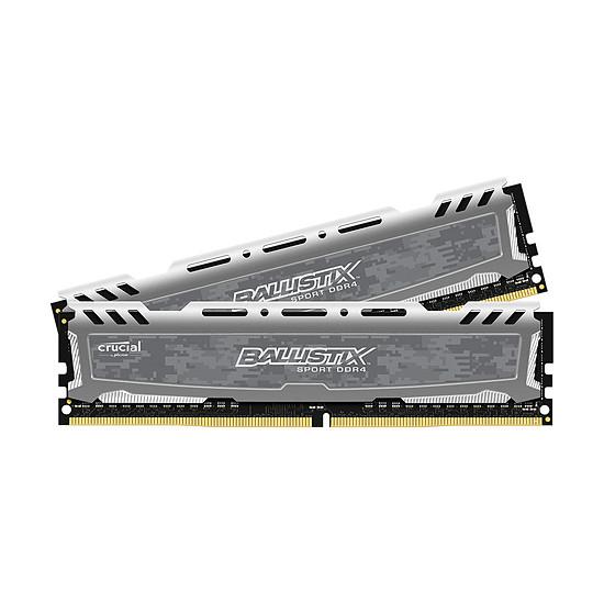 Sélection de barrettes RAM en promotion - Ex : Kit Mémoire RAM Ballistix Sport LT - 32 Go (2 x 16 Go), DDR4, 3000 MHz