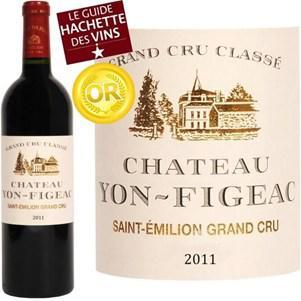 Bouteille de vin rouge Château Yon-Figeac 2011 - St Emilion Grand Cru Classé
