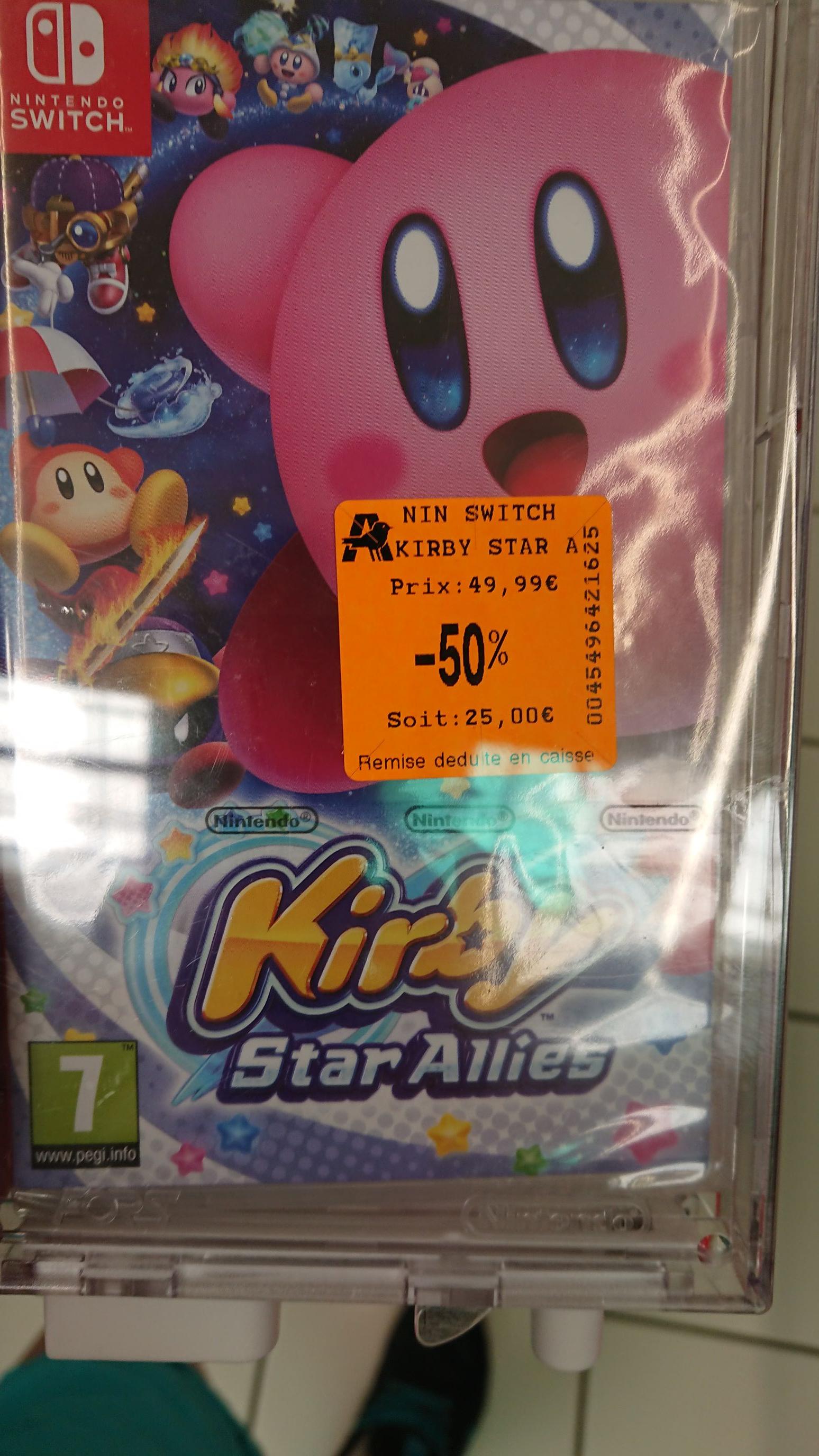 Jeu Kirby Star Allies sur Nintendo Switch - Poitiers (86)