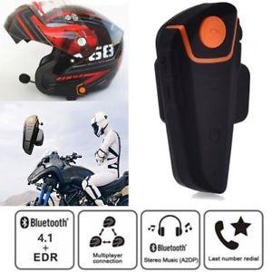 Intercom Bluetooth BT-S2 pour Moto - 1000m