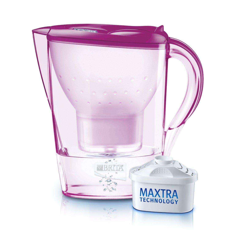 Carafe filtrante Brita Marella (plusieurs coloris) + Pack de 3 Cartouches Maxtra (ODR de 20€)