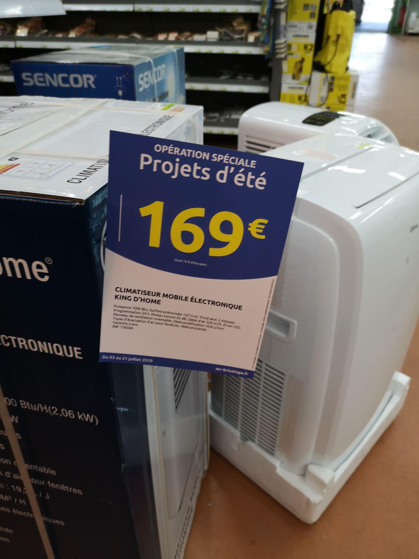 Climatiseur King d'Home KDCLIO78E - Marconne (62)