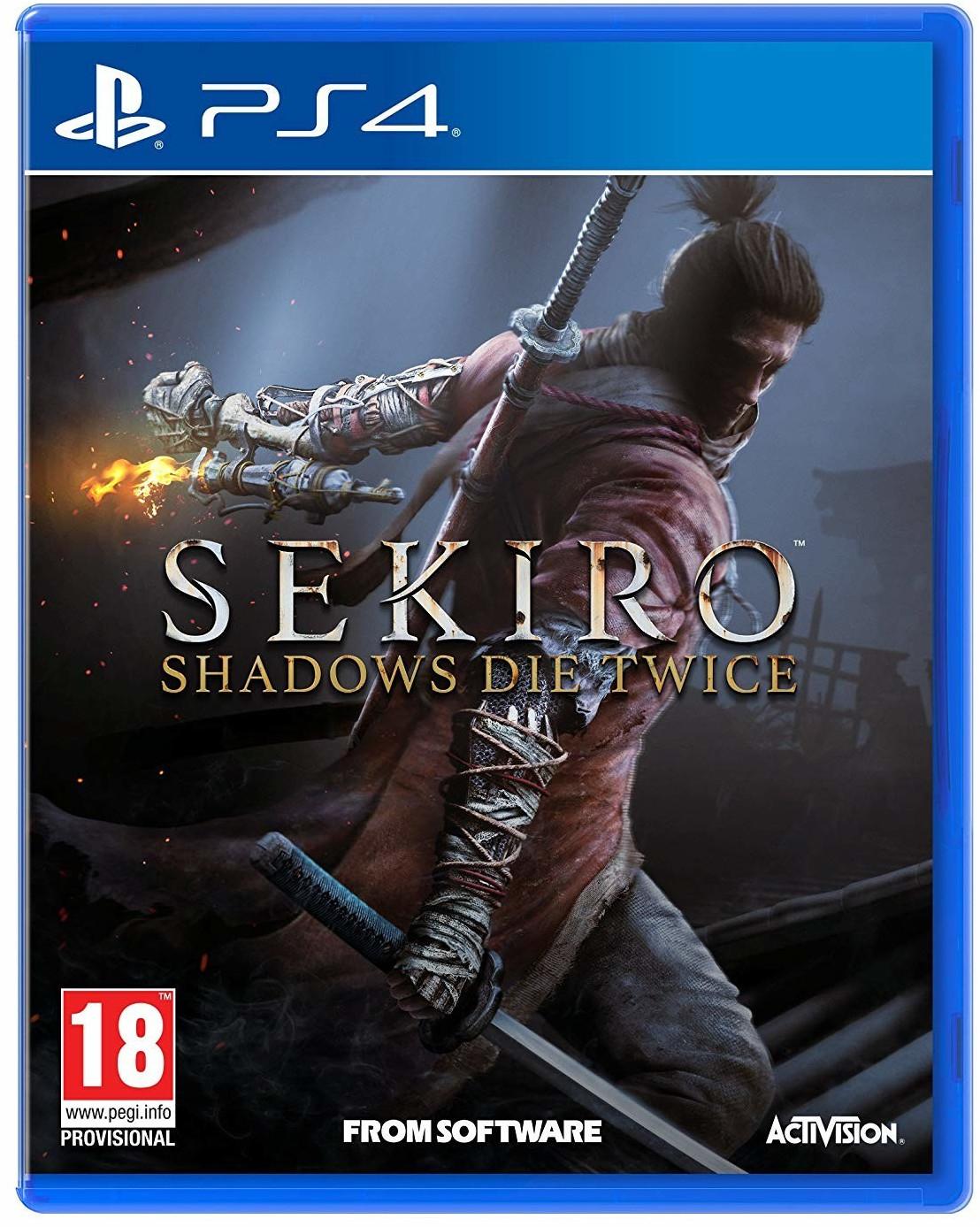Sekiro: Shadows Die Twice sur PS4 et Xbox One