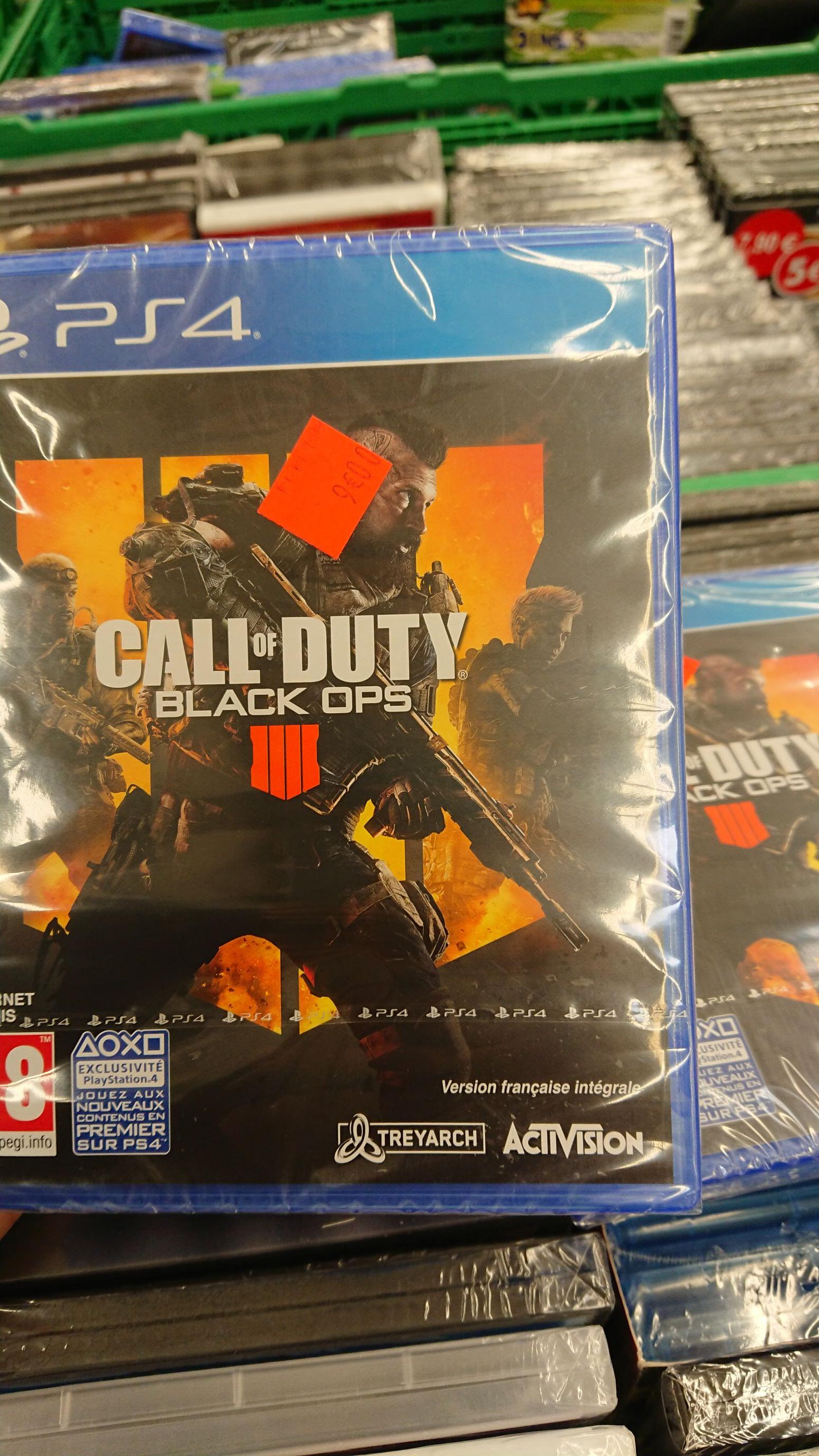 Jeu Call of Duty Black ops 4 sur PS4, PC ou Xbox One - Carrefour Flins (78)