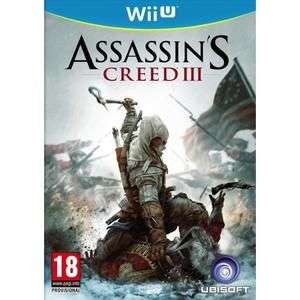 Assassin's Creed III sur Wii U (vendeur tiers)