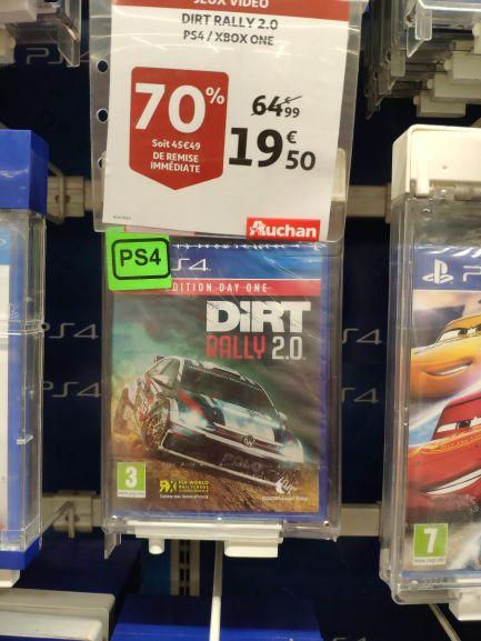Sélection de jeux en promotion - Ex: Dirt Rally 2.0 Day One Edition Sur PS4 ou Xbox One - Béziers (34)
