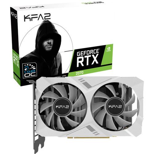 Carte Graphique KFA2 GeForce RTX 2070 White Mini