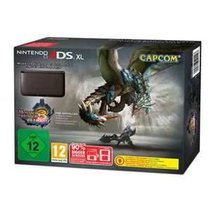 Console Nintendo 3DS XL + Monster Hunter Ultimate