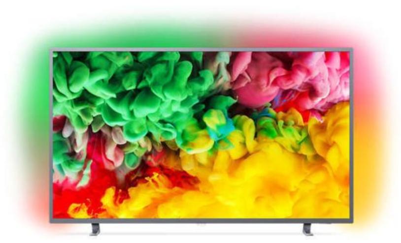 """TV Full LED 50"""" Philips 50PUS6703/12 avec Ambilight (3 Côtés) - Dalle VA, UHD 4K, HDR+, Smart TV"""