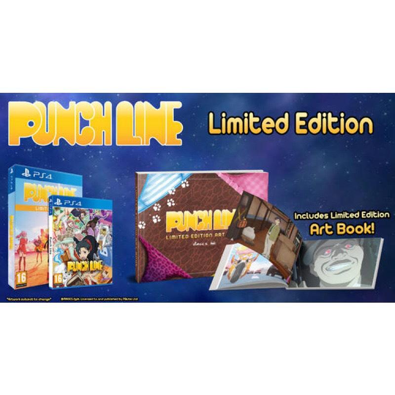 Punchline Edition Limitée sur PS4